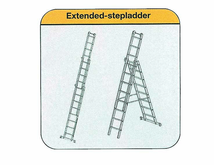 Foto of  Ladder 3-delig, 3x10