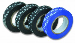 Isolatietape Blauw met Face-Codering N, 15mm x 10m