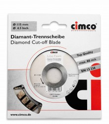 Slijpschijf Diamant, 125mm, Line Beige