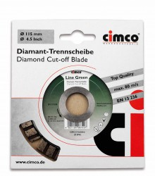 Slijpschijf Diamant, 150mm, Line Green