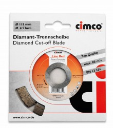 Slijpschijf Diamant, 150mm, Line Red