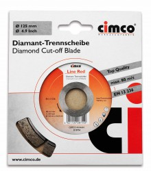 Slijpschijf Diamant, 125mm, Line Red